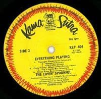 THE LOVIN' SPOONFUL Everything Playing Vinyl Record LP Karma Sutra 1968